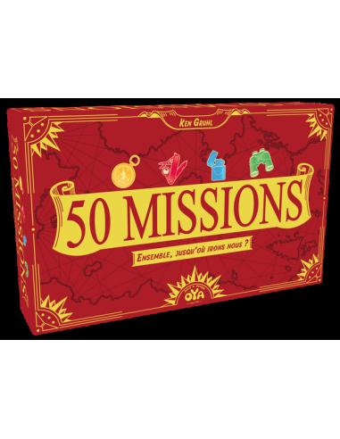 50 missions - jeu coopératif