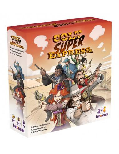 Colt super express - jeu Ludonaute