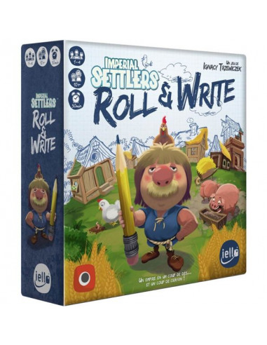 Imperial settlers Roll & Write - jeu...