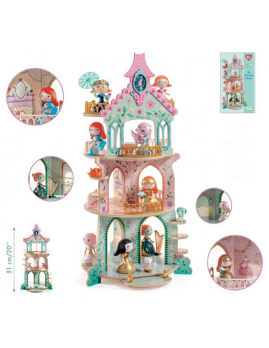 Ze Princesses Tower - arty toy princessse