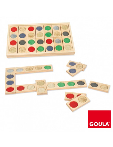 Domino tactile - Goula