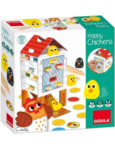 Jeu Happy chicken - Goula