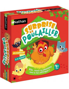 Jeu Surprise au poulailler