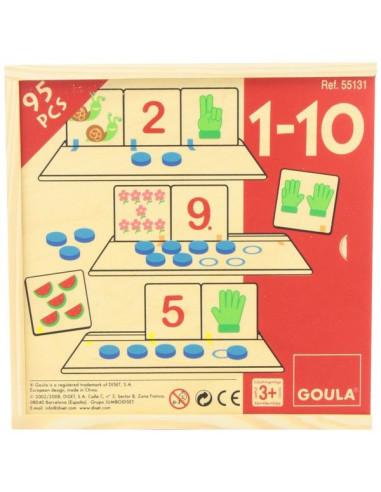 Compter 1 à 10 - Goula