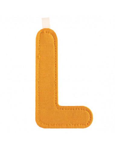 L lettre en tissu - Lilliputiens
