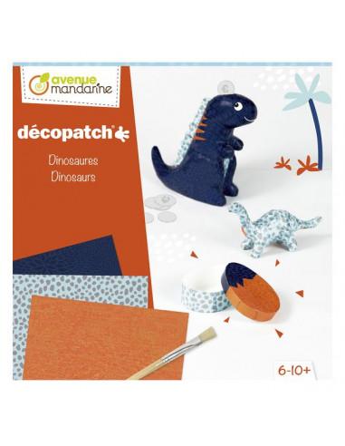 Décopatch dinosaures - Avenue mandarine