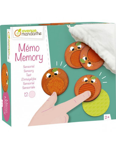 Mémory sensoriel - Avenue mandarine