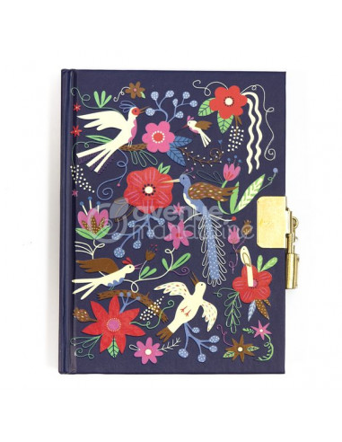 Journal intime oiseaux et fleurs -...