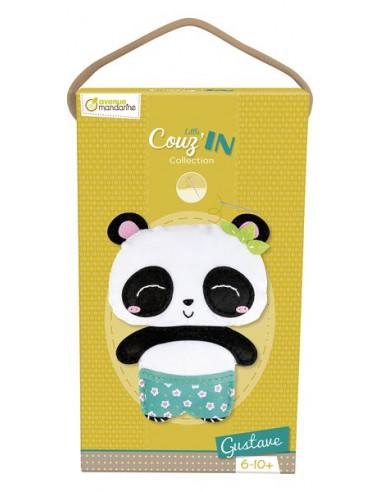 Gustave le panda à coudre Little...