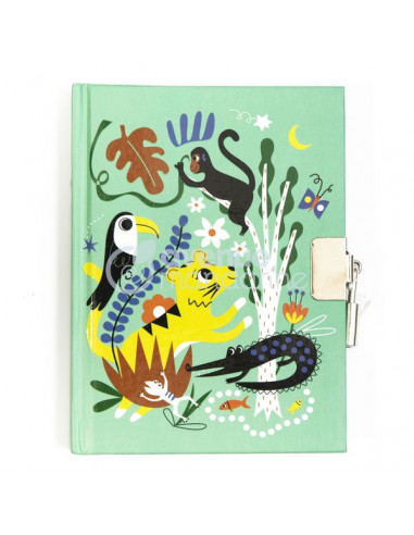 Journal intime jungle - Avenue mandarine