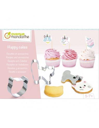 Happy cakes chats - Avenue mandarine