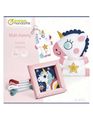 Coffret multi activity licornes -...