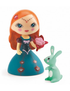 Djeco Arty Jouets Princess Blanca collection figurine avec Grenouille Prince