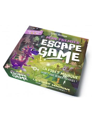 Mon premier escape game : la forêt...