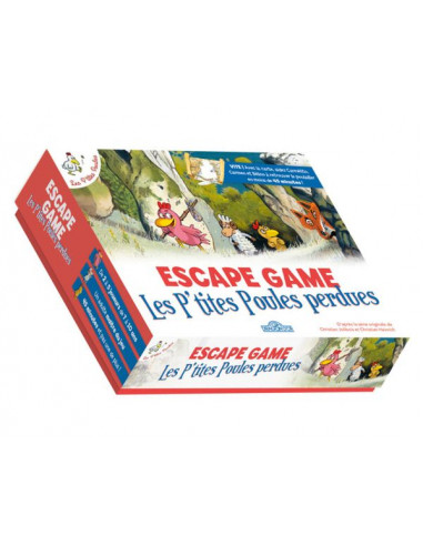 Escape game : les p'tites poules perdues
