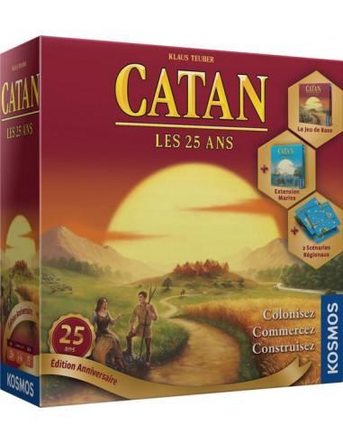 Catan édition jubilé les 25 ans