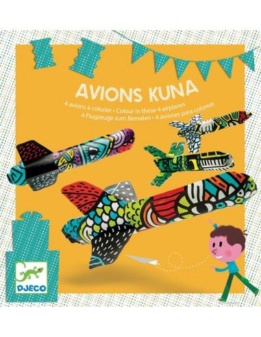 Avions en papier Kuna - Djeco