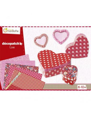Décopatch kit amour - Avenue mandarine