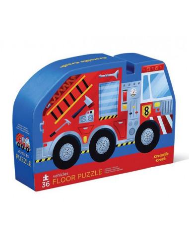 Puzzle véhicules 36 pièces