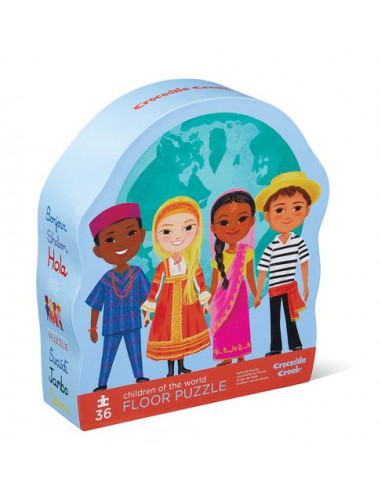 Puzzle enfants du monde 36 pièces