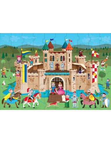 Les chevaliers du Moyen âge - puzzle...