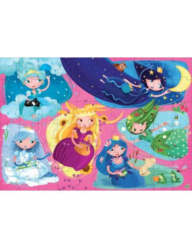 Les princesses de la nature - puzzle...