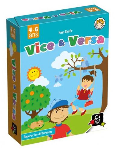 Vice & Versa - jeu Gigamic