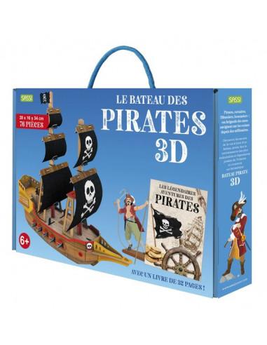 Maquette 3D le bateau de pirates - Sassi