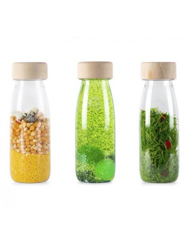 3 bouteilles sensorielles vie - Petit...