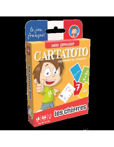 Cartatoto chiffres - jeu de carte