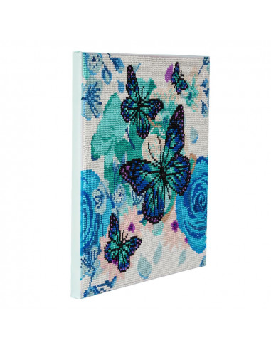 Papillons kit tableau broderie...