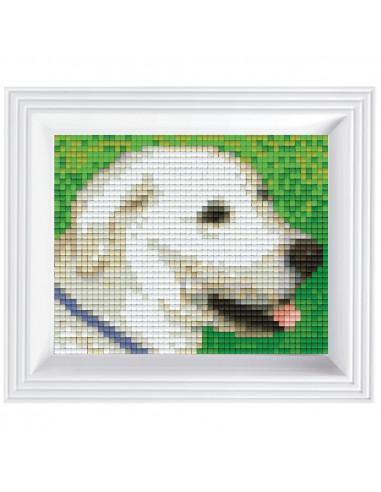 Kit créatif Pixel chien avec cadre...