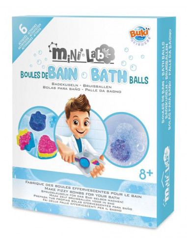 Mini lab boules de bain - Buki