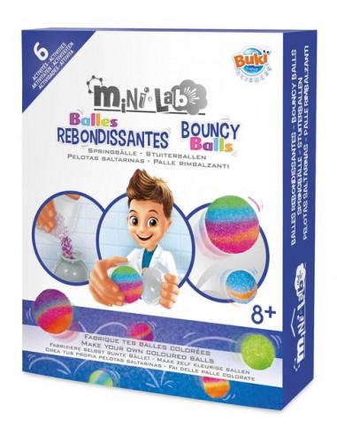 Mini lab balles rebondissantes - Buki