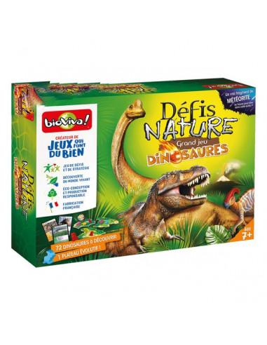 Le grand jeu défis nature dinosaures...