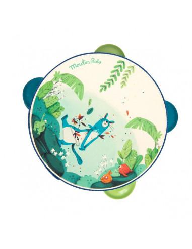 Tambourin bleu Dans la jungle -...