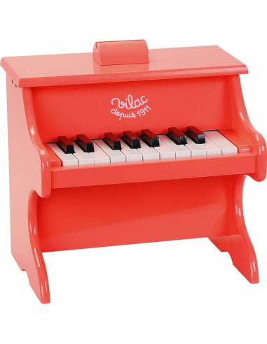 Piano crazy orange 18 touches avec...