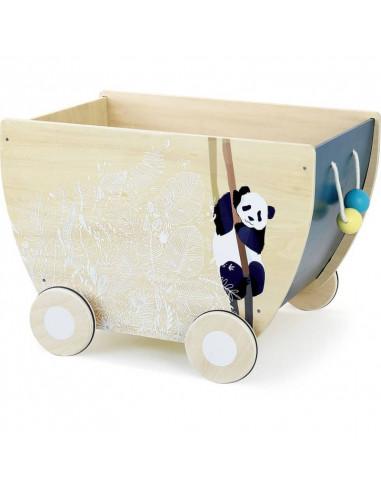 Chariot à jouets Sous la canopée - Vilac