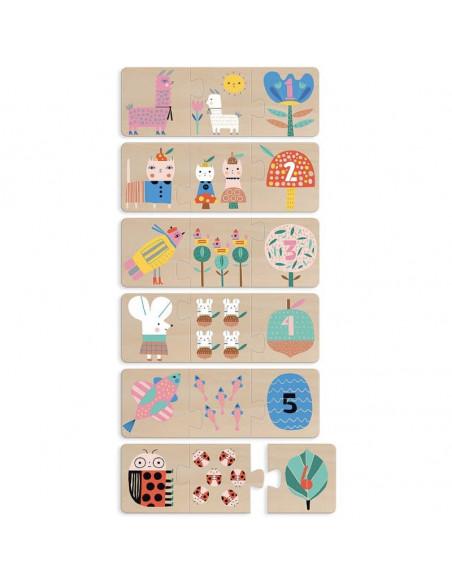 Puzzle trio maman bébé Suzy Ultman - Vilac
