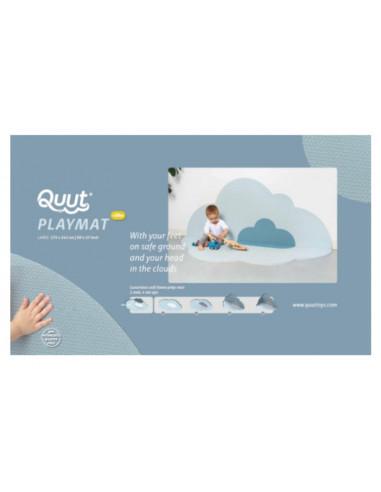 Grand tapis de jeu nuage bleu ciel -...
