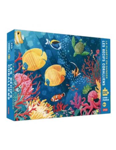 La planète en danger le récif...
