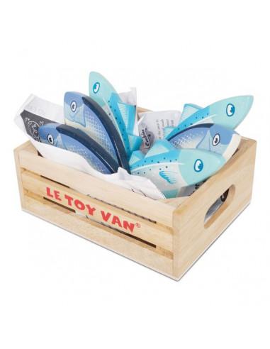 Cagette de poissons du marché - le...