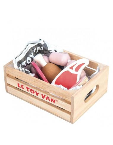 Cagette de viande du marché - le Toy Van