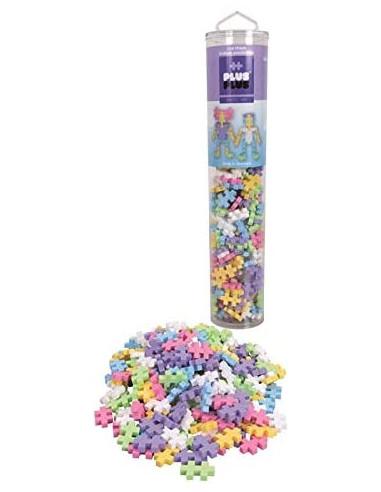 Tube mega pastel Plus Plus 240 pièces