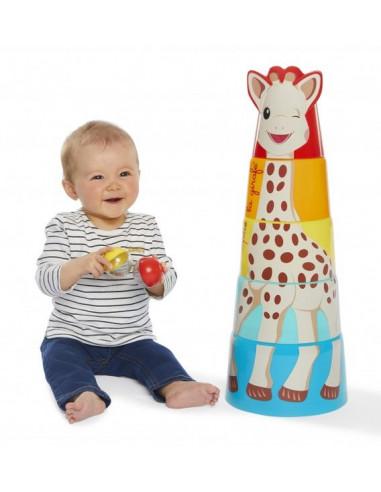 La tour géante de Sophie la girafe