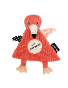 Doudou flamingos flamant rose