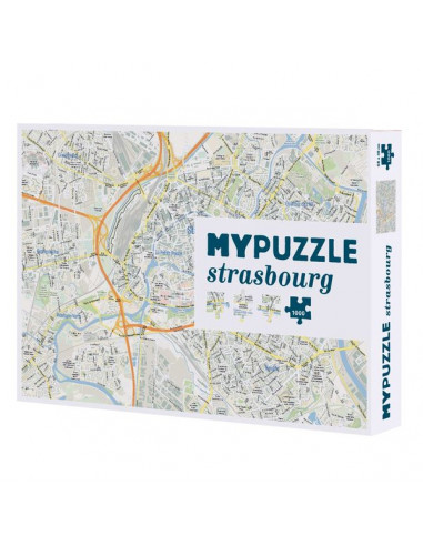 My puzzle Strasbourg 1000 pièces