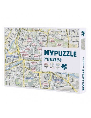 My puzzle Rennes 1000 pièces