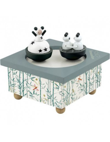 Boite à musique panda - Trousselier