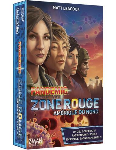 Pandémic zone rouge - Amérique du Nord